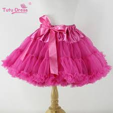 baby chiffon fluffy pettiskirts tutu princess skirts