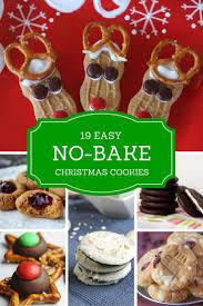 easy no bake christmas cookies christmas baking ideas