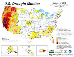 california drought map january 2016 drought july 2015 state of the climate national centers for