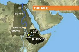 Nile River On Map The Nile And The Euphrates Are Drying Up Both Rivers Are In The