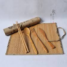 bamboo flatware list manufacturers of bamboo flatware set for camping buy bamboo