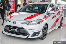 toyota vios gallery toyota vios sports edition lower sportier