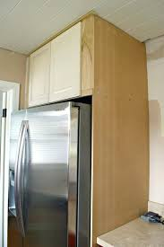 cabinet enclosure for refrigerator build your own refrigerator kitchen remodeling done right with wine