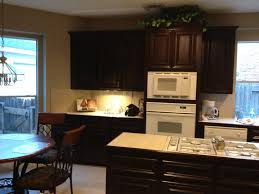 Kitchen Cabinet Wood Choices Sherwin Williams Black Bean Was A Beautiful Choice For These