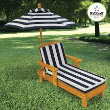 Wooden Outdoor Lounge Furniture Cushion Outdoor Chaise Wood Patio Furniture Umbrella Lounge Seat