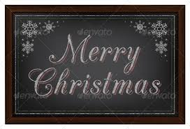 merry christmas sign merry christmas sign on black chalkboard by jv pixels graphicriver