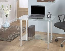 Small Glass Desks 17 Interesting Frosted Glass Computer Desk Images Ideas Fabulous