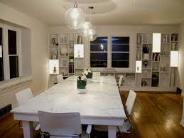 Lake House Dining Room Ideas Lights For Dining Rooms Home Design Contemporary Room Sloped