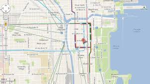 cta line map changes maps to add colors of cta transit lines