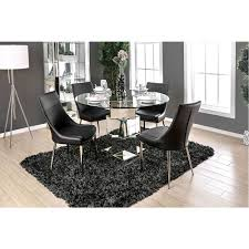 glass dining room furniture izzy sophisticated design glass dining table