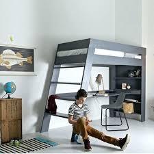 lit mezzanine avec canapé convertible fixé lit en hauteur avec canape lit mezzanine avec banquette clic clac
