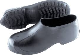 industrial safety footwear natural rubber work overshoes 4 6