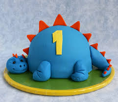 cake blog little dinosaur cake tutorial