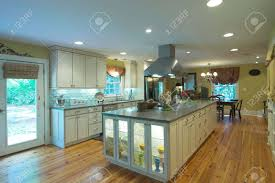 how to choose under cabinet lighting kitchen large open kitchen and diningroom stock photo picture and royalty