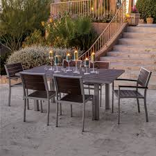 Poly Lumber Outdoor Furniture Polywood Euro 36 X 72 In Dining Table Euro Collection Polywood
