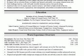 Sample Resume For Law Enforcement by Sample Resume Criminal Justice