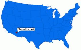 map of chandler az chandler arizona city information epodunk