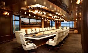 luxurious conference room design white elegant chairs with armrest