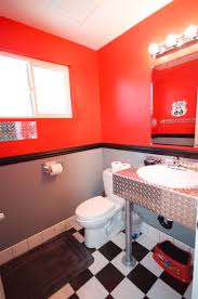 Disney Cars Home Decor Disney Cars Themed Bathroom Complete With Bathroom Finishes By