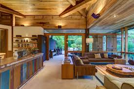 open plan house sofas lighting open plan living charming rustic house in