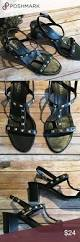 vaneli sandals black size 8 ankle straps shoes sandals and