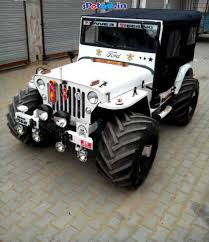 thar jeep modified in kerala monster modified open jeeps other vehicles kolkata west bengal