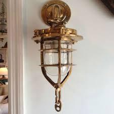 brass lantern sconce indoor great home decor decorative