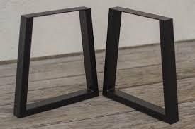 trapezoid steel bench legs coffee table legs metal legs