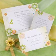 Sunflower Wedding Invitations Sunflower Wedding Invitation Kits