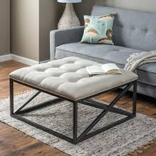 Tufted Grey Ottoman Oversized Tufted Ottoman Oversized Chairs With Ottomans Chair And