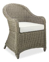 Outdoor Wicker Dining Chair Manchester Outdoor Dining Chair Williams Sonoma