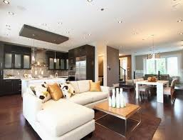 salon cuisine aire ouverte décoration salon ouvert sur la cuisine décor de maison
