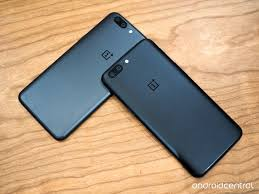 the two oneplus 5 colors are almost identical android central