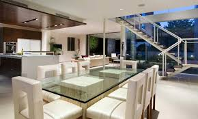 Dining Room Table Modern Furniture Luxury Modern Dining Room Set With Glass Table Model