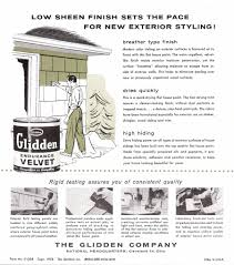 the sunshine grove 1950s glidden exterior paint