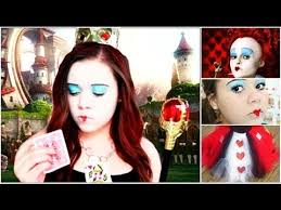 Queen Halloween Costume Queen Hearts Diy Halloween Costume Makeup U0026outfit
