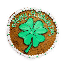 shamrock st patrick u0027s day cookie cake u2013 the great cookie
