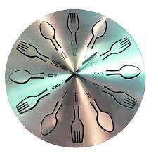 pendule de cuisine design cuisine horloge cuisine couverts casa horloge cuisine in horloge