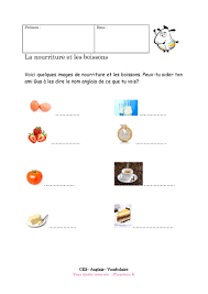 vocabulaire cuisine vocabulaire nourriture anglais hk09 jornalagora