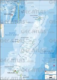 American Samoa Map Geoatlas Oceania Vector Cd Illustrator Fully Modifiable Layered