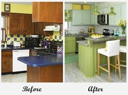 Home And Garden Kitchen Designs by Room Makeovers Each Featuring A Very Different Before And After