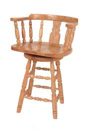 amish captains bar stool from dutchcrafters amish furniture