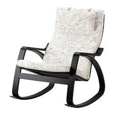 poltrona a dondolo ikea po繖ng sedia a dondolo vislanda nero bianco ikea
