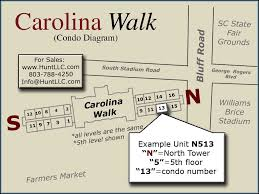 carolina walk condo building diagram