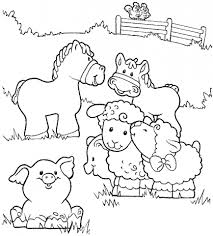 20 free printable farm animal coloring pages everfreecoloring com