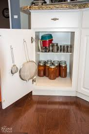 install premade kitchen slide out shelves with a screwdriver