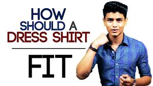 how should a formal dress shirt fit buying the perfect fitting