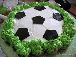 pull a part cupcake soccer ball cake veena azmanov