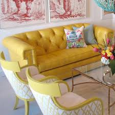 Yellow Leather Sofa Yellow Leather Sofa New Interiors Design For Your Home