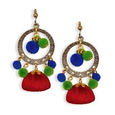 earrings online silk thread earrings buy handmade silk thread jewellery